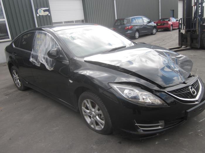 Mazda 6 Sport (GH14/GHA4) 2.0 CiDT 16V 2009 Triangel links-voor (klik op de afbeelding voor de volgende foto)