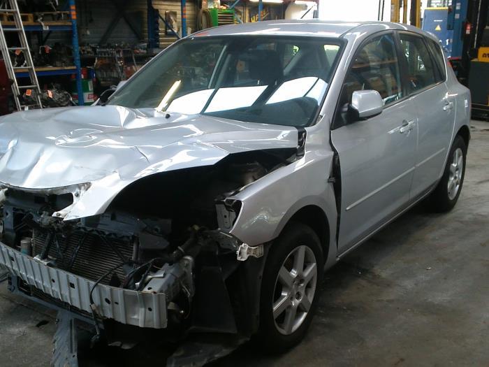 Mazda 3 Sport (BK14) 1.6i 16V 2007 Slotmechaniek Portier 4Deurs links-achter (klik op de afbeelding voor de volgende foto)