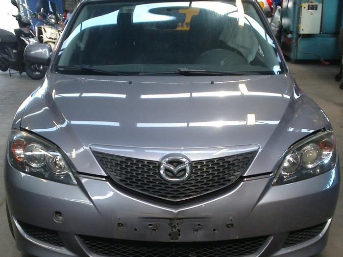 Mazda 3 Sport (BK14) 1.6i 16V 2004 Slotmechaniek Portier 4Deurs links-achter (klik op de afbeelding voor de volgende foto)