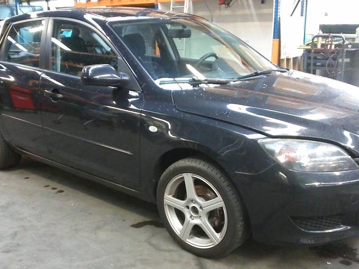 Mazda 3 Sport (BK14) 1.3i 16V 2005 Slotmechaniek Portier 4Deurs links-achter (klik op de afbeelding voor de volgende foto)