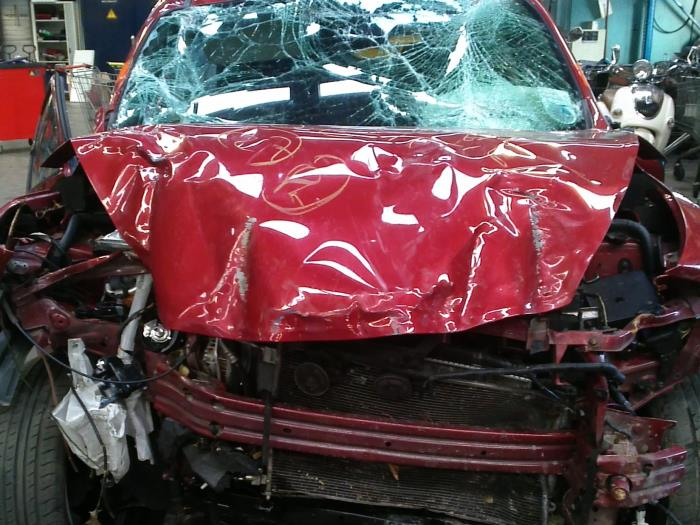 Nissan Juke (F15) 1.6 16V 2013 Wielnaaf voor (klik op de afbeelding voor de volgende foto)