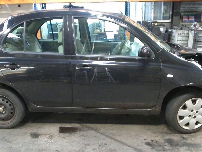 Nissan Micra (K12) 1.4 16V (klik op de afbeelding voor de volgende foto)  (klik op de afbeelding voor de volgende foto)  (klik op de afbeelding voor de volgende foto)  (klik op de afbeelding voor de volgende foto)