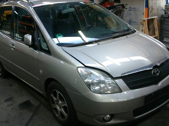 Toyota Corolla Verso (E12) 1.6 16V VVT-i (klik op de afbeelding voor de volgende foto)  (klik op de afbeelding voor de volgende foto)  (klik op de afbeelding voor de volgende foto)  (klik op de afbeelding voor de volgende foto)  (klik op de afbeelding voor de volgende foto)
