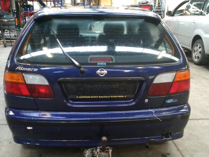 Nissan Almera (N15) 1.4 LX,GX,S 16V (klik op de afbeelding voor de volgende foto)  (klik op de afbeelding voor de volgende foto)