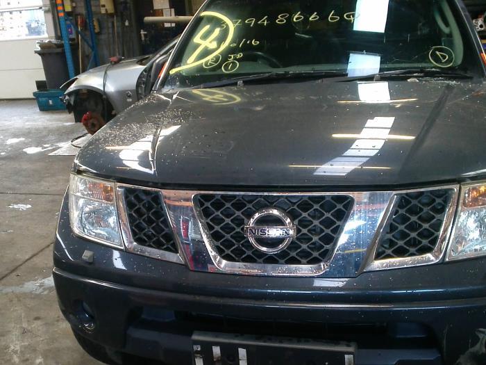 Nissan Navara (D40) 2.5 dCi 16V 4x4 2008 Scherm rechts-voor (klik op de afbeelding voor de volgende foto)