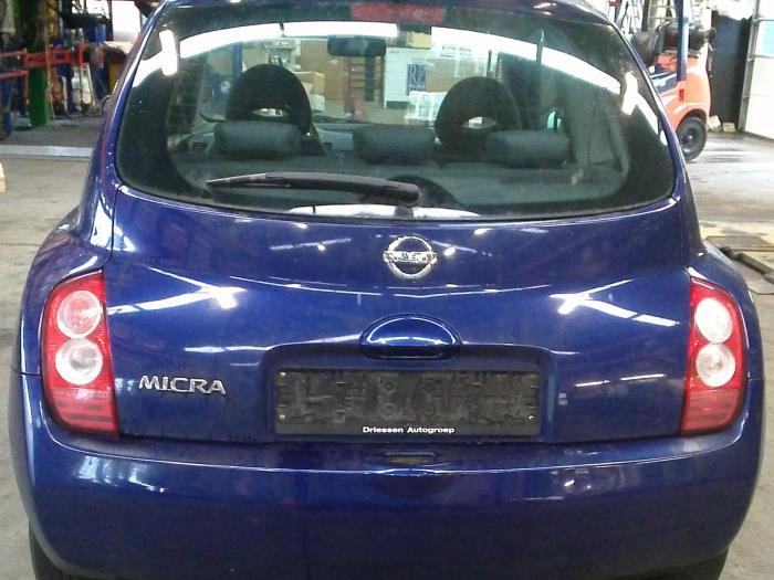 Nissan Micra (K12) 1.2 16V 2004 Binnenscherm (klik op de afbeelding voor de volgende foto)