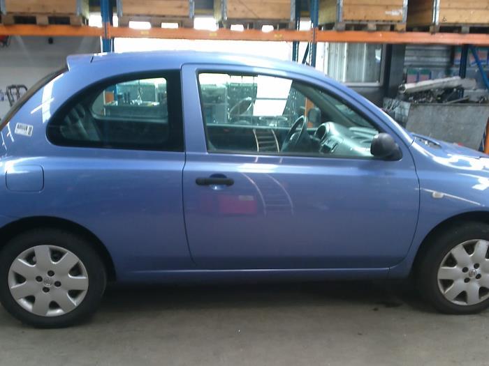 Nissan Micra (K12) 1.5 dCi 65 (klik op de afbeelding voor de volgende foto)  (klik op de afbeelding voor de volgende foto)  (klik op de afbeelding voor de volgende foto)  (klik op de afbeelding voor de volgende foto)