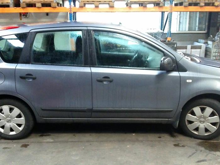 Nissan Note (E11) 1.5 dCi 86 (klik op de afbeelding voor de volgende foto)  (klik op de afbeelding voor de volgende foto)  (klik op de afbeelding voor de volgende foto)  (klik op de afbeelding voor de volgende foto)