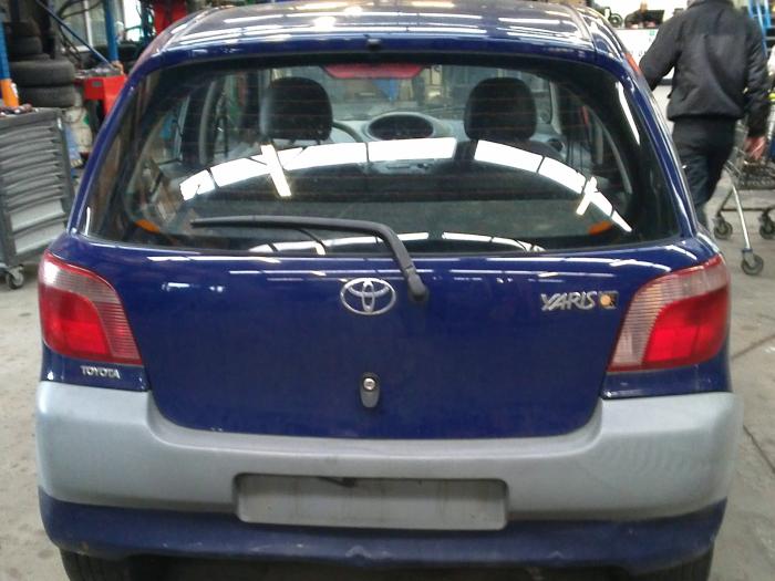 Toyota Yaris (P1) 1.0 16V VVT-i (klik op de afbeelding voor de volgende foto)  (klik op de afbeelding voor de volgende foto)