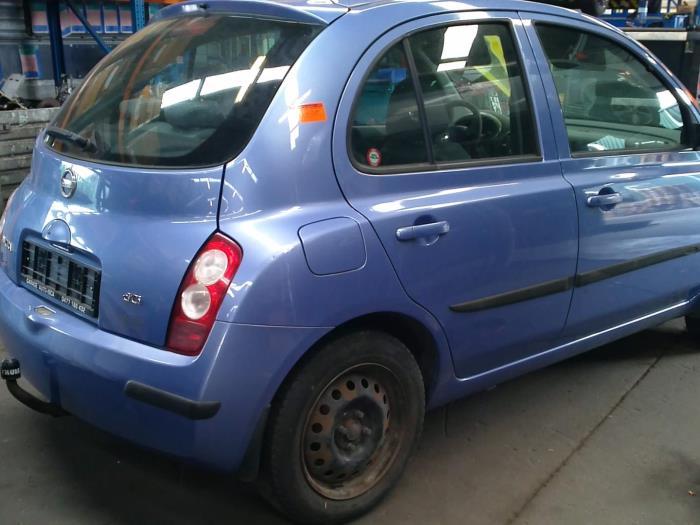 Nissan Micra (K12) 1.5 dCi 65 (klik op de afbeelding voor de volgende foto)  (klik op de afbeelding voor de volgende foto)  (klik op de afbeelding voor de volgende foto)  (klik op de afbeelding voor de volgende foto)  (klik op de afbeelding voor de volgende foto)
