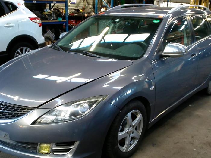Mazda 6 SportBreak (GH19/GHA9) 2.2 CDVi 16V 163 2009 Uitlaat Middendemper (klik op de afbeelding voor de volgende foto)