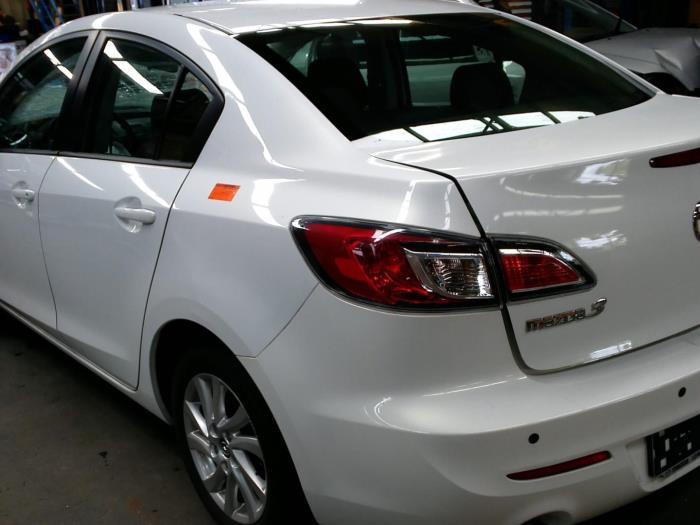 Mazda 3 (BL12/BLA2/BLB2) 1.6 CiTD 16V (Klicken Sie auf das Bild für das nächste Foto)