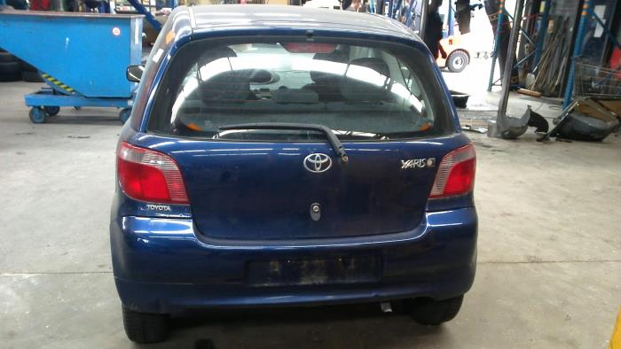 Toyota Yaris (P1) 1.0 16V VVT-i (klik op de afbeelding voor de volgende foto)  (klik op de afbeelding voor de volgende foto)  (klik op de afbeelding voor de volgende foto)