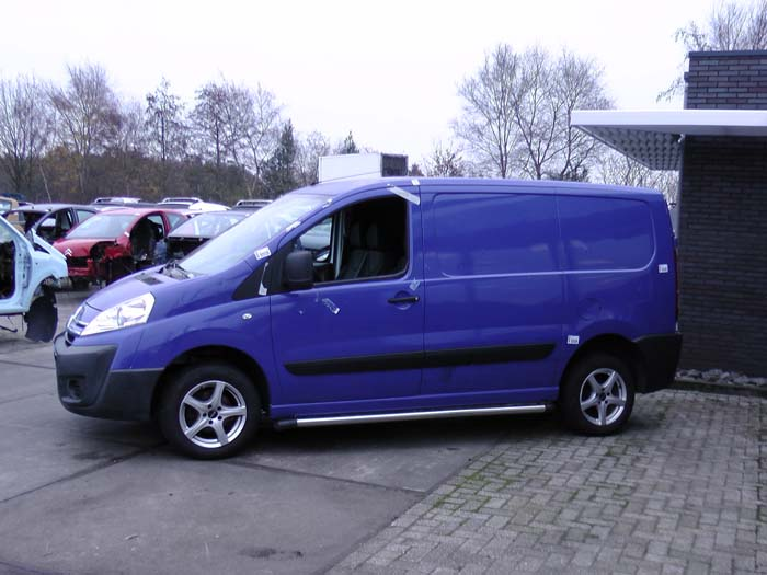 Citroen Jumpy 1.6 HDI 16V 2007-01 / 2016-07