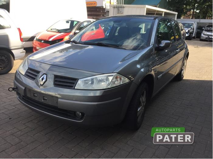 Renault Megane 1.6 16V Autom. 2002-10 / 2005-12