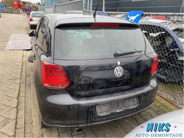 Volkswagen Polo 1.6 TDI 16V 90 Sloopvoertuig (2010, Zwart)