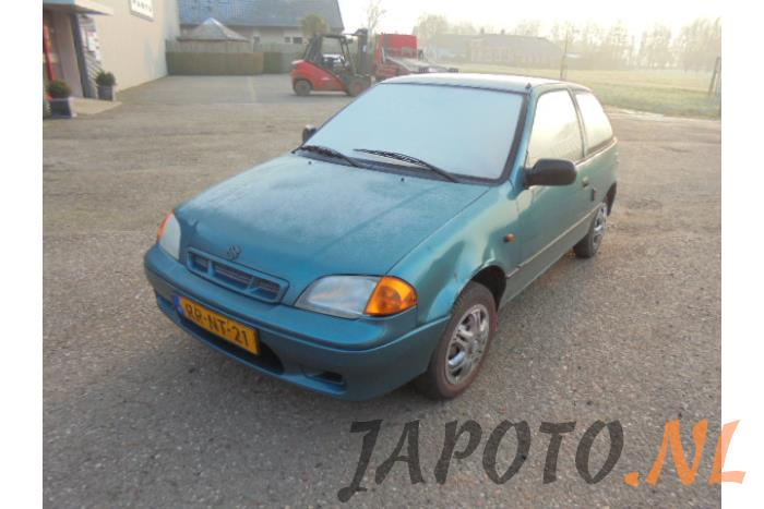 Exhaust front section for Suzuki Swift - Japoto nl
