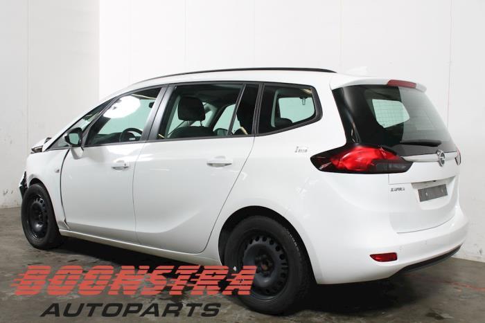 Opel Zafira Tourer (P12), MPV, 2011 / 2019<br><small>1.6 CDTI 16V ecoFLEX 134, MPV, Diesel, 1.598cc, 99kW, FWD, B16DTH; D16DTH; DTEMP, 2016-11 / 2018-05</small>