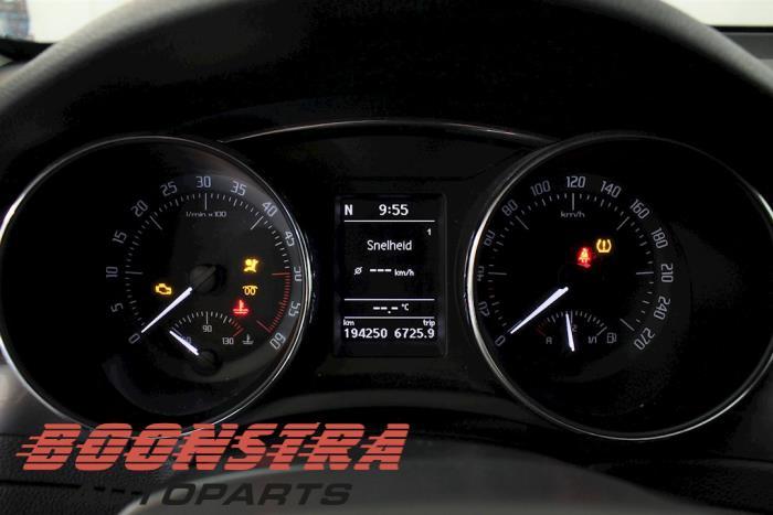Skoda Superb Combi (3TAC/TAF), Combi, 2009 / 2015<br><small>1.6 TDI, Combi/o, Diesel, 1.598cc, 77kW, FWD, CAYC, 2010-09 / 2015-05</small>