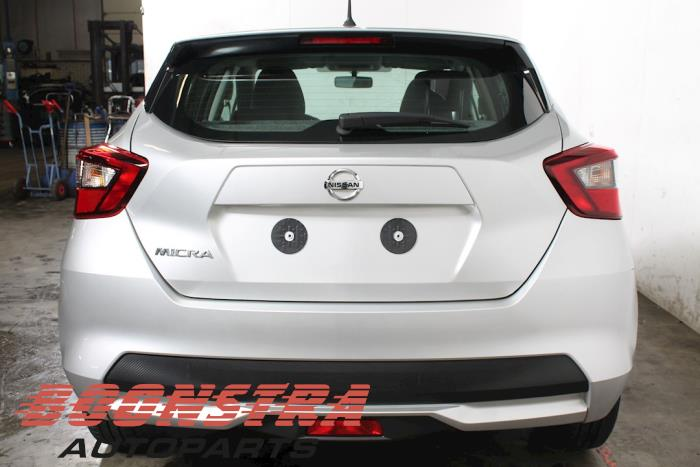Nissan Micra (K14), Hatchback, 2016<br><small>1.0 12V, Hatchback, Benzine, 999cc, 52kW, RWD, B4D410; BR10DE, 2016-12, K14C</small>