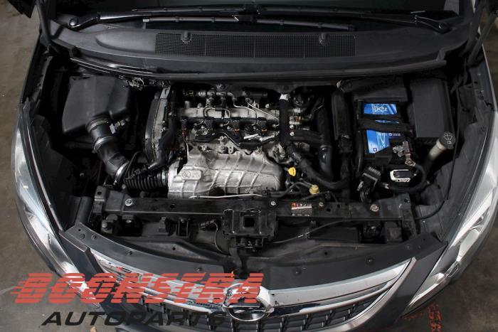 Opel Zafira Tourer (P12), MPV, 2011 / 2019<br><small>2.0 CDTI 16V 130 Ecotec, MPV, Diesel, 1.956cc, 96kW, FWD, A20DT; Z20DTJ; EURO4; Y20DTJ; B20DTJ; D20DTJ; DTEMP, 2011-10 / 2019-03, PC9EM; PD9EC; PD9EL; PD9EM; PD9EU; PE9EL; PE9EM; PE9EN</small>