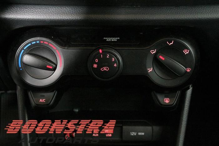 Kia Picanto (JA), Hatchback, 2017<br><small>1.0 12V, Hatchback, Benzine, 998cc, 49kW (67pk), FWD, G3LA, 2017-03, JAF4P1; JAF4P2; JAF5P1; JAF5P2</small>