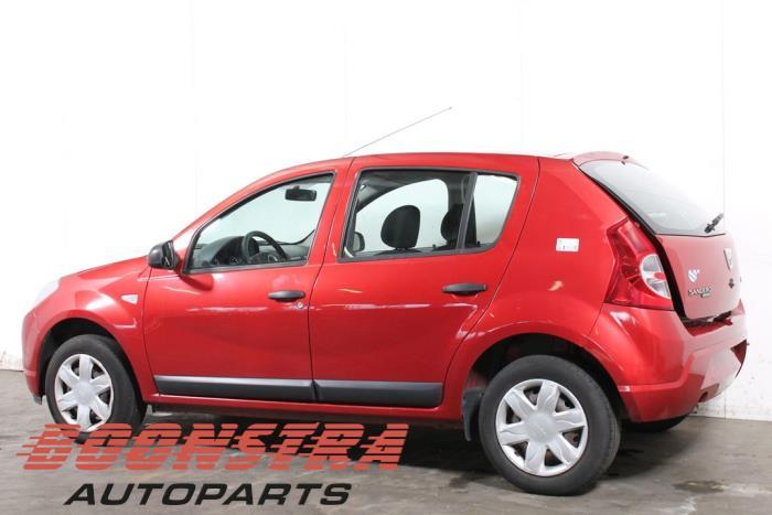 Dacia Sandero (BS), Hatchback, 2008 / 2012<br><small>1.2 16V, Hatchback, Benzine, 1.149cc, 55kW (75pk), FWD, D4F732; D4FF7, 2008-11 / 2012-12, BSDA1;  BSDBN;  BSDM2;  BSRA1;  BSRBN</small>