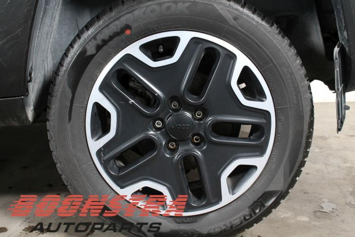 Jeep Renegade (BU), SUV, 2014<br><small>2.0 Mutlijet 170 16V 4x4 Trailhawk, SUV, Diesel, 1.956cc, 125kW (170pk), 4x4, 55263088, 2014-07 / 2018-08, BUAXD2</small>