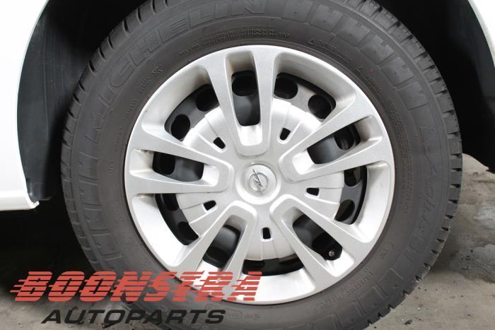 Opel Vivaro, Van, 2019<br><small>2.0 CDTI 122, Delivery, Diesel, 1.997cc, 90kW (122pk), FWD, D20DTL; DW10FE, 2019-03</small>