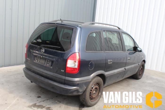 Opel Zafira 2003  Z22SE 5