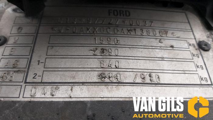 Ford Focus 1999  FYDA 7