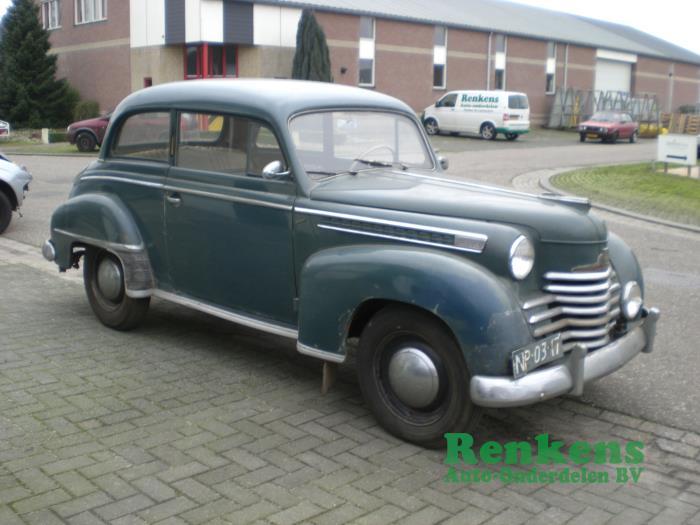 Opel Schadevoertuig (1952, Grijs)