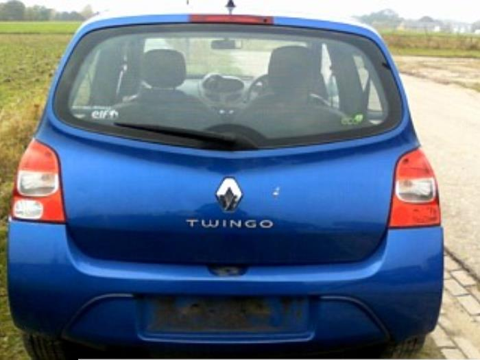 renault twingo ii cn 1 2 16v pave ann e de construction 2010 couleur bleu. Black Bedroom Furniture Sets. Home Design Ideas