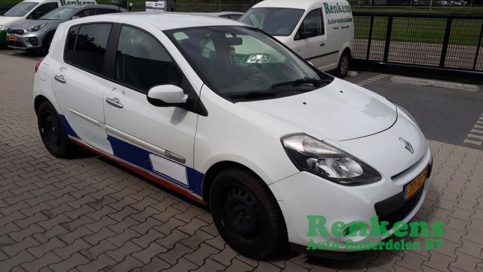 Renault Clio III 1.5 dCi FAP Sloopvoertuig (2012, Wit)