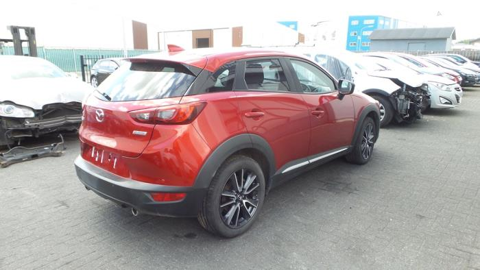 Mazda CX-3, SUV, 2015<br><small>2.0 SkyActiv-G 120 AWD, SUV, Benzine, 1.998cc, 88kW, 4x4, PE, 2015-06</small>