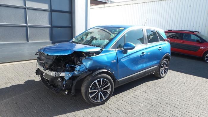Opel Crossland X, SUV, 2017<br><small>1.2 12V, SUV, Benzine, 1.199cc, 61kW, FWD, F12XE; EB2FA, 2018-07</small>