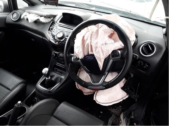 Ford Fiesta VII (JA8), Hatchback, 2008 / 2017<br><small>1.6 SCTi ST 16V, Hatchback, Benzine, 1.596cc, 134kW (182pk), FWD, JTJA; JTJB, 1303 / 1712</small>