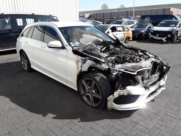 Mercedes C Estate (S205), Combi, 2014<br><small>C-220 CDI BlueTEC, C-220 d 2.2 16V, Combi/o, Diesel, 2.143cc, 125kW (170pk), RWD, OM651921, 2014-09 / 2018-05, 205.204</small>