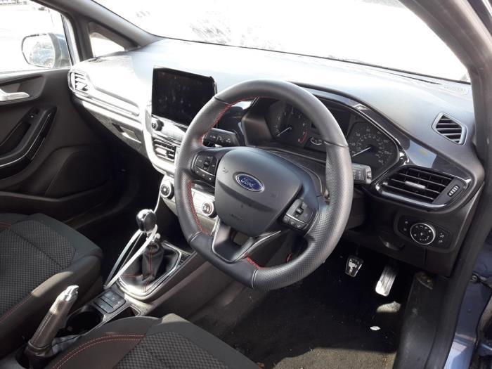 Ford Fiesta VIII, Hatchback, 2017<br><small>1.0 EcoBoost 12V 100, Hatchback, Benzine, 998cc, 74kW (101pk), FWD, SFJH; SFJK; SFJJ; SFJE; SFJN; SFJP; SFJF, 2017-05</small>