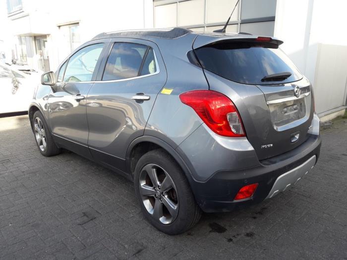 Opel Mokka/Mokka X, SUV, 2012<br><small>1.7 CDTI 16V 4x2, SUV, Diesel, 1.686cc, 96kW (131pk), FWD, A17DTS, 2012-06 / 2016-12</small>