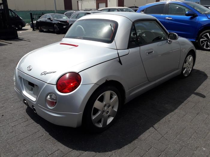 Daihatsu Copen, Cabrio, 2003 / 2012<br><small>0.7 Turbo 16V, Cabrio, Benzine, 659cc, 50kW (68pk), FWD, JBDET, 2003-09 / 2007-12, L880</small>