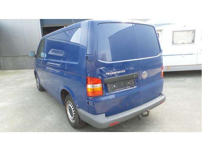 Volkswagen Transporter T5, Van, 2003 / 2015 1.9 TDi, Bestel, Diesel, 1.896cc, 62kW (84pk), FWD, BRR, 2006-01 / 2009-11, 7HA; 7HC; 7HH (ZF7H0001T)