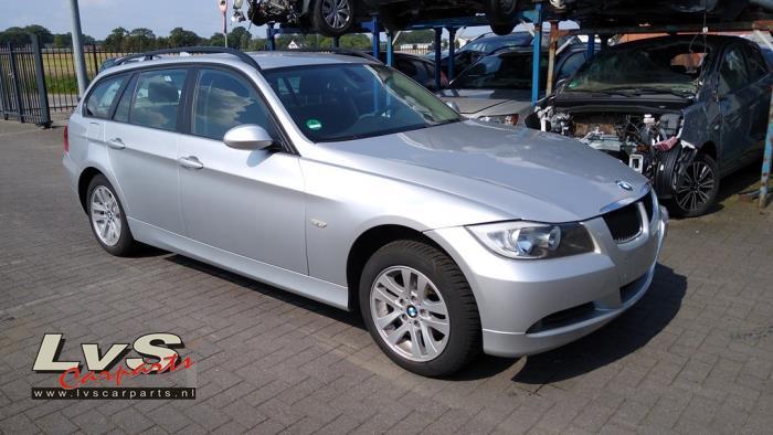 BMW 3 serie Touring 318i 16V Sloopvoertuig (2007, Zilver)