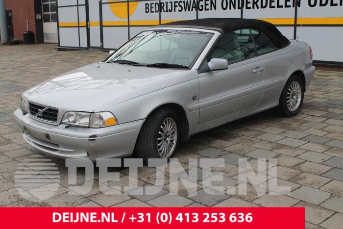 Cabriodak Bediening - Volvo C70