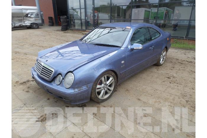 Differentieel achter - Mercedes CLK