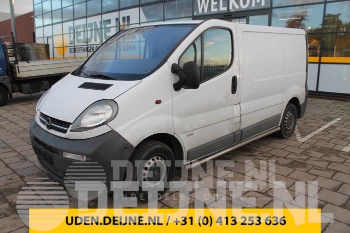 Sidebar - Opel Vivaro