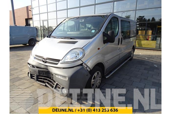 Schuifdeur Slotmechaniek links - Opel Vivaro