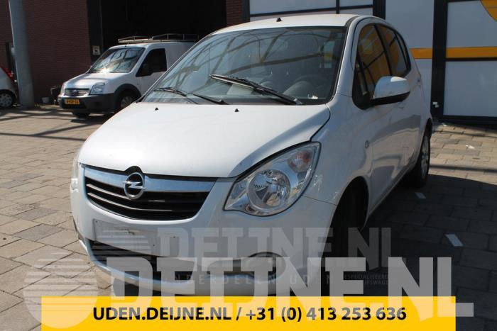 Toerenteller - Opel Agila