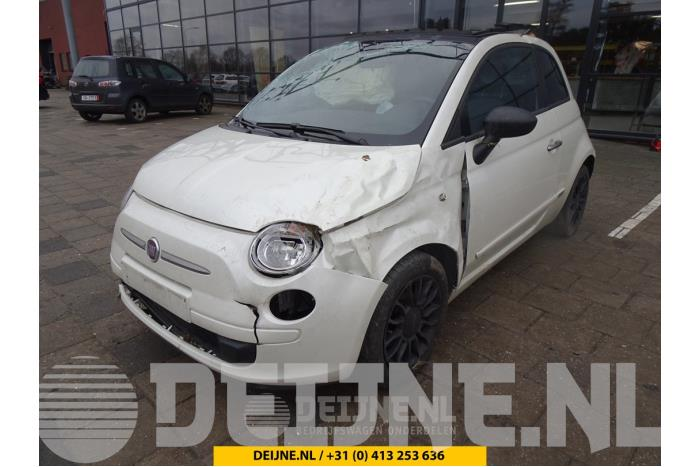 Ruit 2Deurs rechts-achter - Fiat 500