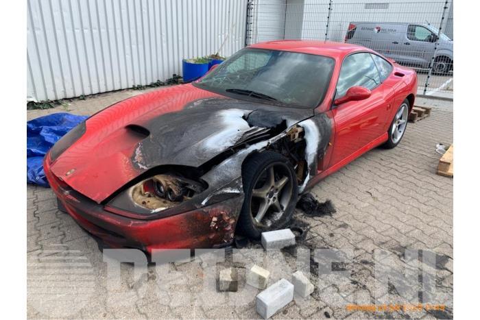 Differentieel achter - Ferrari 550